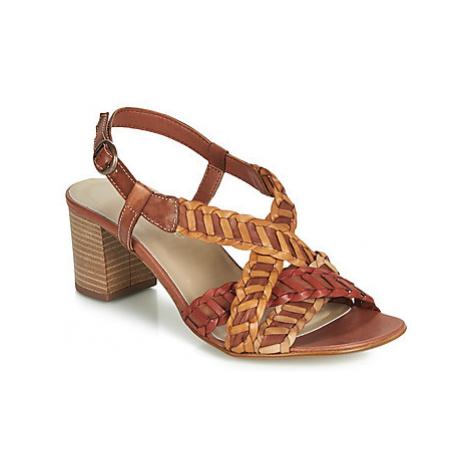 Samoa MARTY women's Sandals in Brown