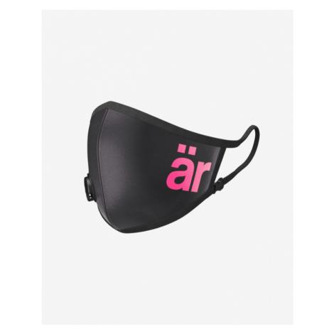är Big Logo Mask with valve and nanofilter for children Black