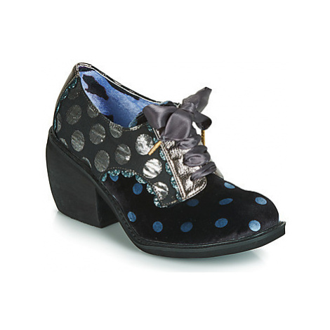 Irregular Choice TIPPLE women's Low Ankle Boots in Black