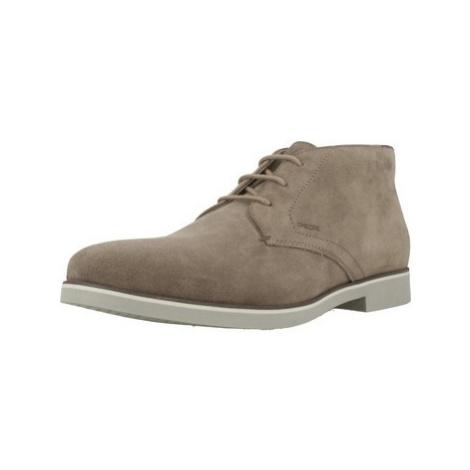 Geox U DANIO B men's Mid Boots in Brown