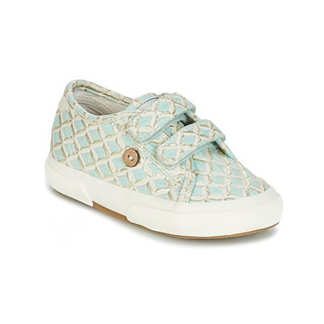 Faguo BIRCH SYNTHETIC girls's Children's Shoes (Trainers) in Blue