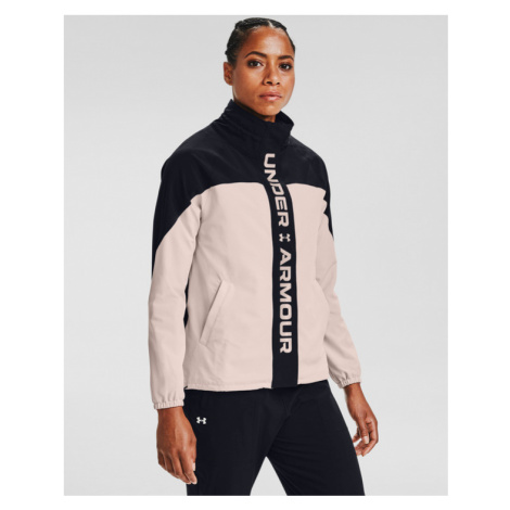 Under Armour RECOVER™ Woven CB Jacket Black Beige