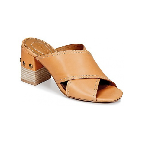 See by Chloé SB30083 women's Mules / Casual Shoes in Brown