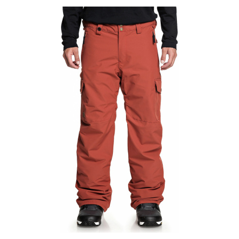 pants Quiksilver Porter - RQJ0/Barn Red - men´s