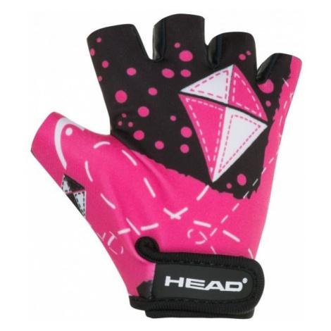 Head GLOVE KID 8820 pink - Kids' cycling gloves