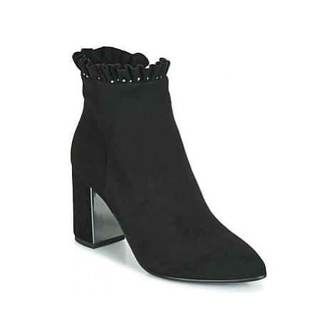 Elue par nous FLORIE women's Low Ankle Boots in Black