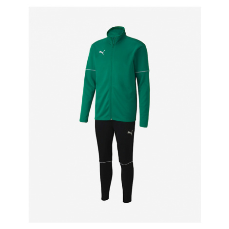 Puma Kids Tracksuit Black Green