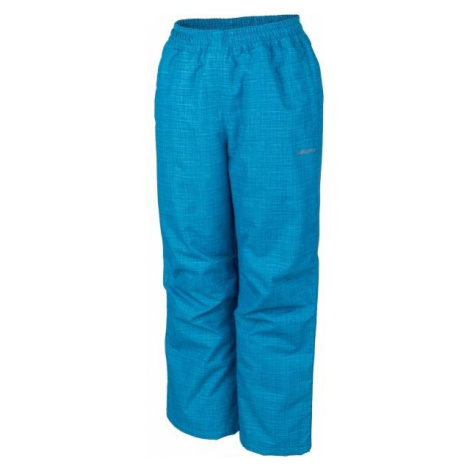 Lewro NOY blue - Insulated kids' trousers