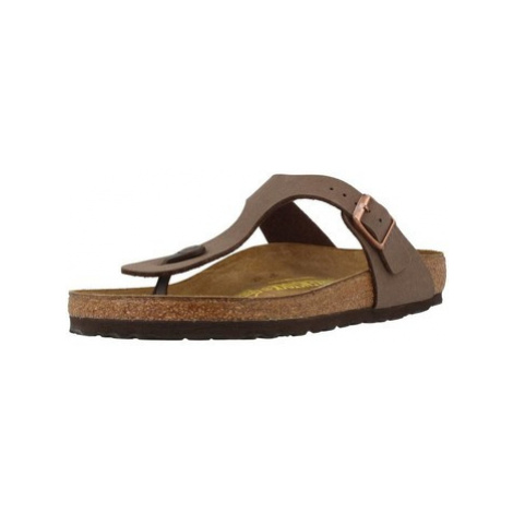Birkenstock GIZEH BF women's Flip flops / Sandals (Shoes) in Brown