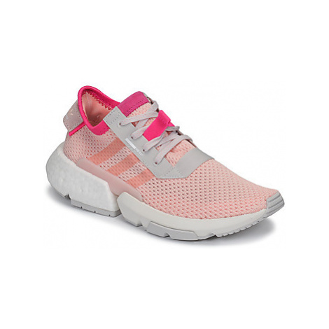 Adidas POD-S3.1 J women's Shoes (Trainers) in Pink