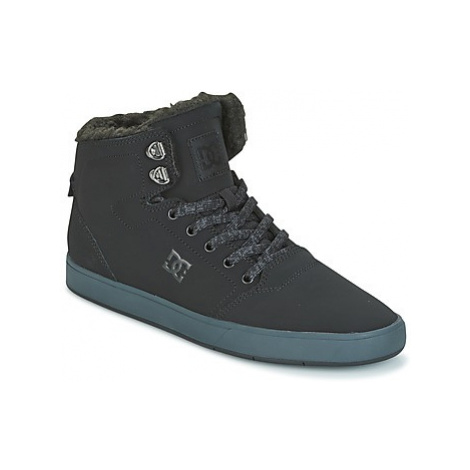 DC Shoes CRISIS HIGH WNT men's Shoes (High-top Trainers) in Black