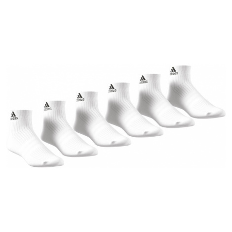 Performance 3Stripes Ankle Half Cushioned Sports Socks 6 Pack Adidas