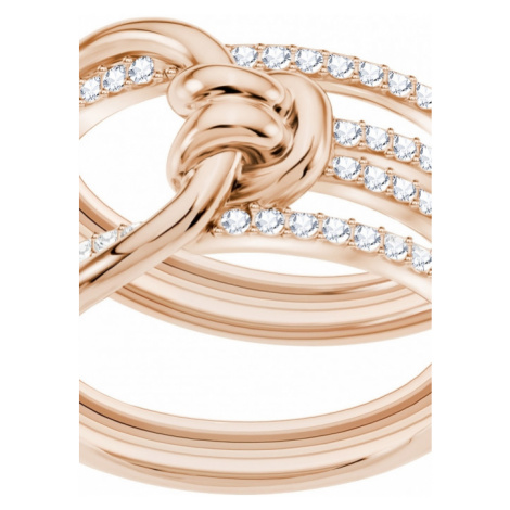 Ladies Swarovski Jewellery Lifelong Ring Size Q.5 5369797