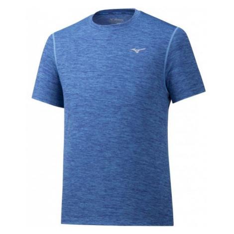 Mizuno IMPULSE CORE TEE blue - Men's running T-shirt