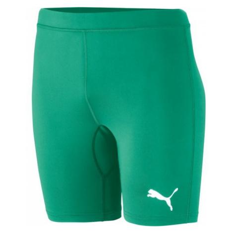 Puma LIGA BASELAYER SHORT TIGHT green - Men's underwear