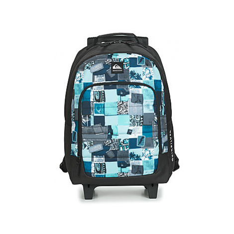 Quiksilver WHEELIE BURST II boys's Children's Rucksack in Blue