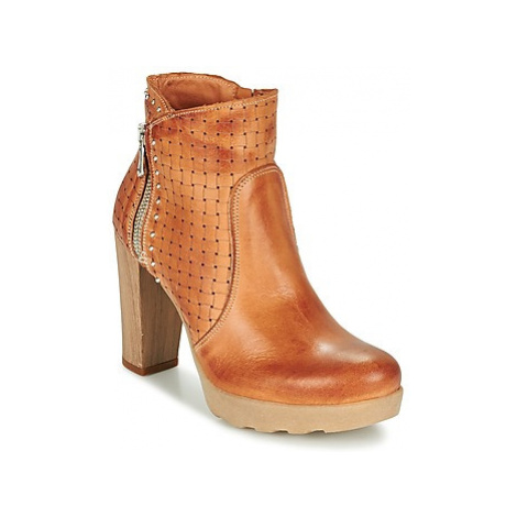 Sweet Lemon RAYINA women's Low Ankle Boots in Brown