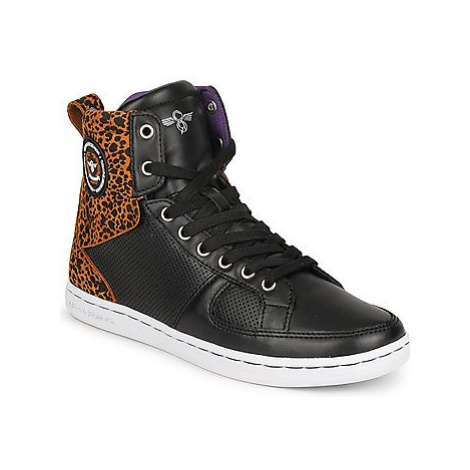 Creative Recreation W SOLANO women's Shoes (High-top Trainers) in Black