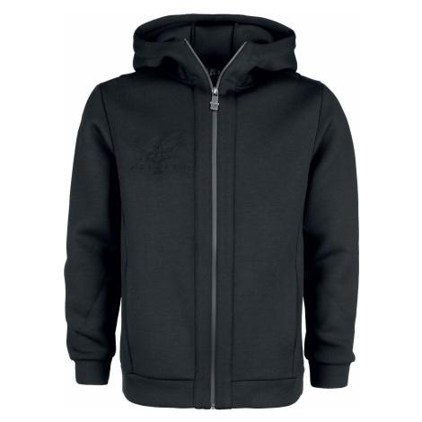 Black Premium by EMP Schwarze Kapuzenjacke mit Softshell-Touch und Prägedruck Hooded zip black