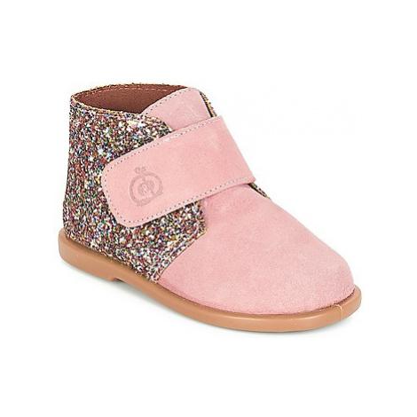 Citrouille et Compagnie JERNA girls's Children's Mid Boots in Pink