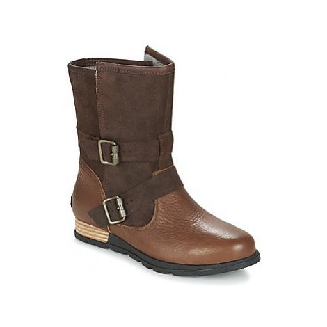 Sorel SOREL MAJOR MOTO women's Mid Boots in Brown