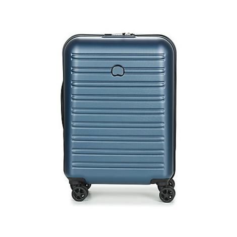Delsey SEGUR 2.0 CAB SL 4DR 55CM men's Hard Suitcase in Blue