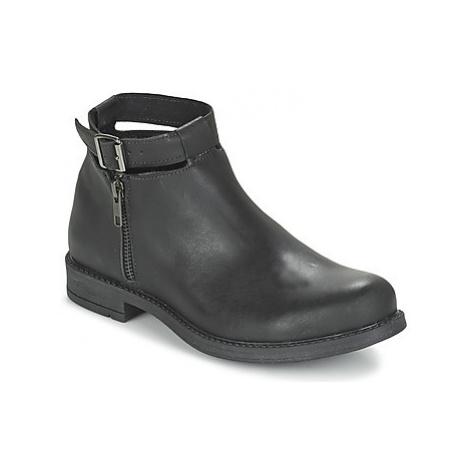 Citrouille et Compagnie FRIZZY girls's Children's Mid Boots in Black