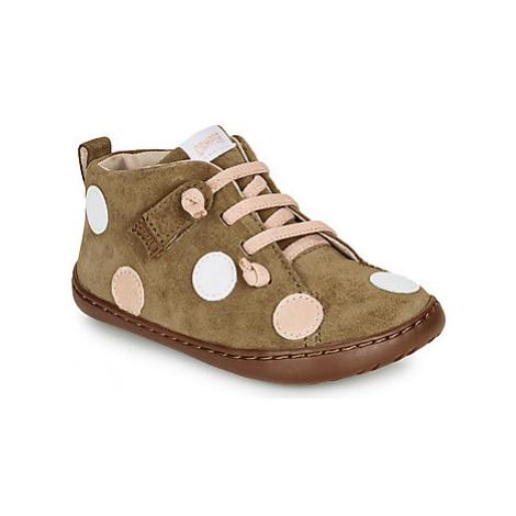 Camper TWS girls's Children's Mid Boots in Brown