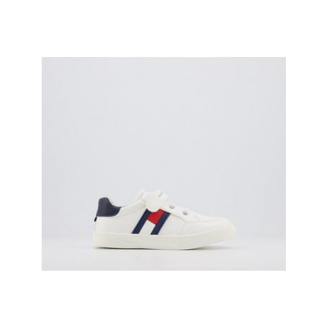 Tommy Hilfiger Tommy Sneaker 7-11 WHITE BLUE RED FLAG