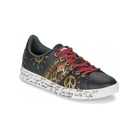 Desigual COSMIC EXOTIC women's Shoes (Trainers) in Black