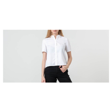 SELECTED Kalli Cropped Shirt Bright White