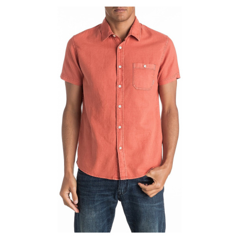 shirt Quiksilver Time Box - NMH0/Burnt Sienna