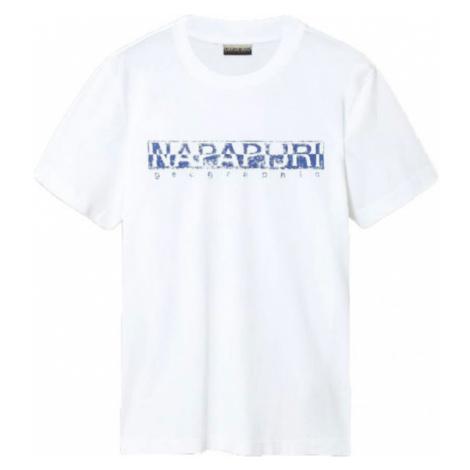 Napapijri SOLANOS white - Men's T-Shirt
