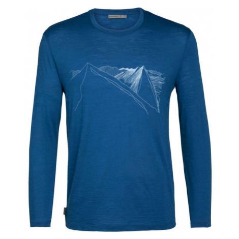 Icebreaker SPECTOR LS CREWE PEAK IN REACH - Men's functional T-shirt Icebreaker Merino