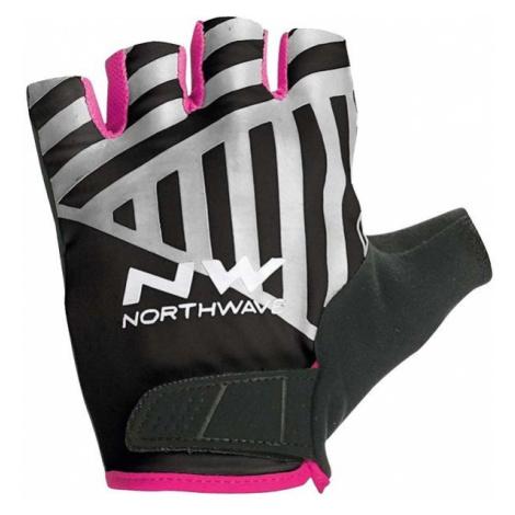 Northwave FLAG SHORT W GLOVES black - Cycling gloves North Wave