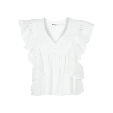 Naf Naf HORU women's Blouse in White