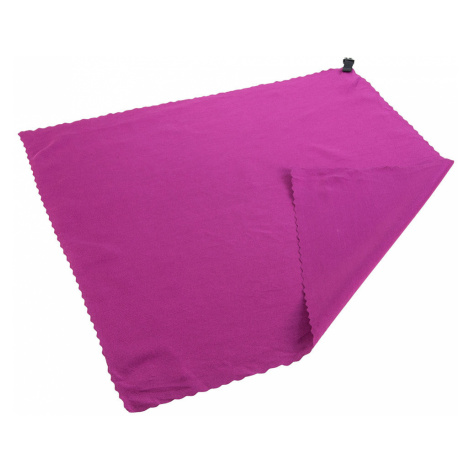 Regatta Pocket Travel Towel (40 x 40cm)-Dark Cerise
