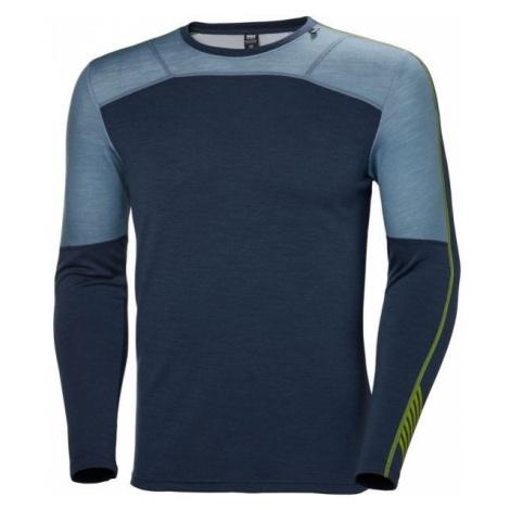 Helly Hansen LIFA MERINO CREW dark blue - Men's T-shirt