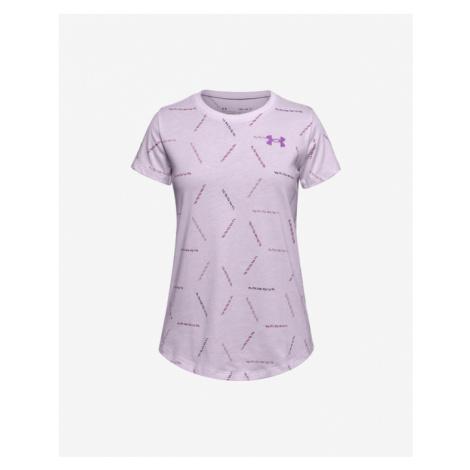Under Armour Twich Multi Print Kids T-shirt Violet