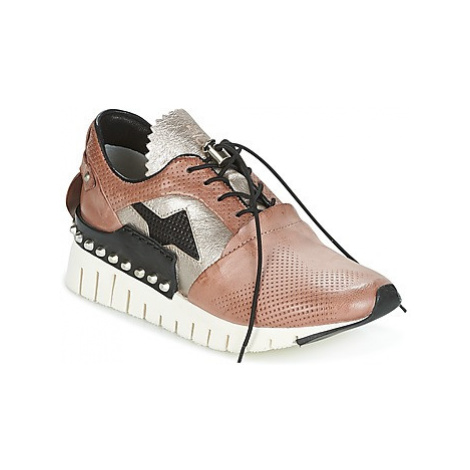Airstep / A.S.98 DENALUX women's Shoes (Trainers) in Pink