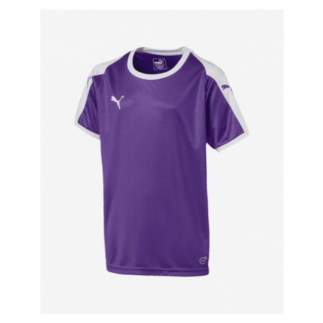 Puma Liga Jersey Kids T-shirt White Violet
