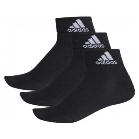 adidas PERFORMANCE ANKLE THIN 3PP black - Socks set