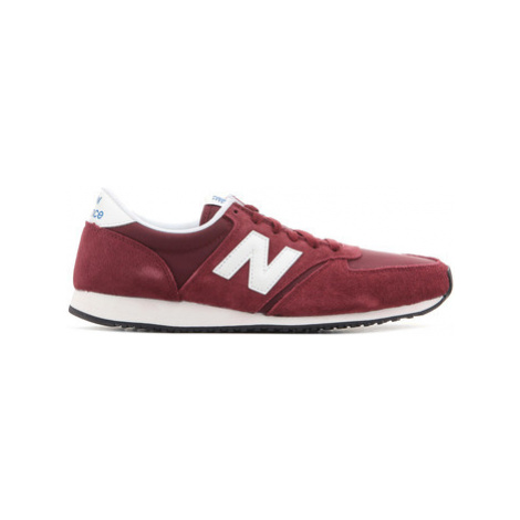 New Balance U420RDW men's Shoes (Trainers) in Red