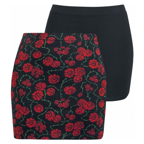 Full Volume by EMP Short skirt black