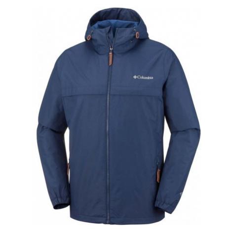 Columbia JONES RIDGE JACKET dark blue - Men's outdoor jacket