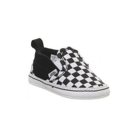 Vans Classic Slip On Crib BLACK WHITE CHECKERBOARD