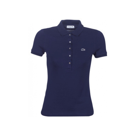 Lacoste PF7845 SLIM women's Polo shirt in Blue