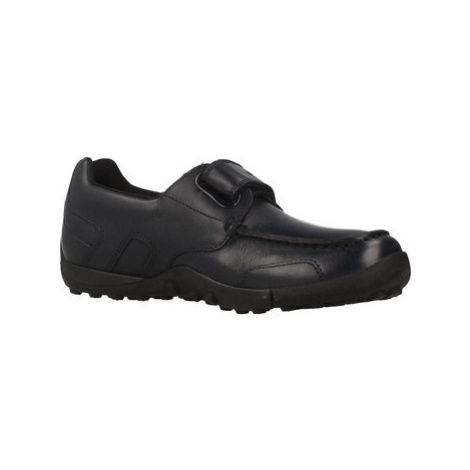 Geox W.SNAKEM B boys's Children's Loafers / Casual Shoes in Blue