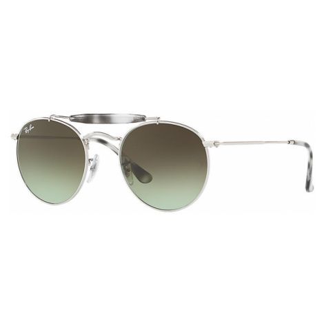 Ray-Ban Rb3747 Unisex Sunglasses Lenses: Green, Frame: Silver - RB3747 003/A6 50-21