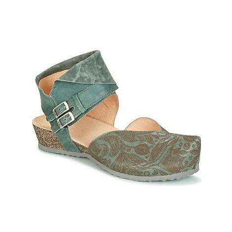 Think MUBA women's Clogs (Shoes) in Green